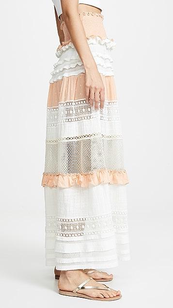 CHIO 多色及地半身裙/连衣裙