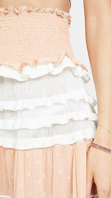 CHIO Разноцветное макси-платье/юбка