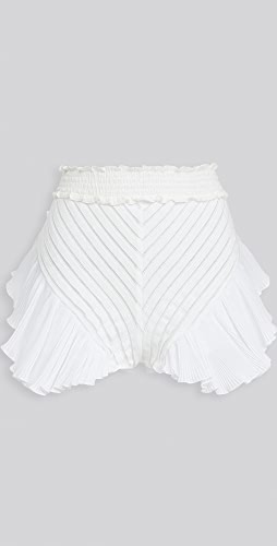 CHIO - Knit Ruffle Shorts