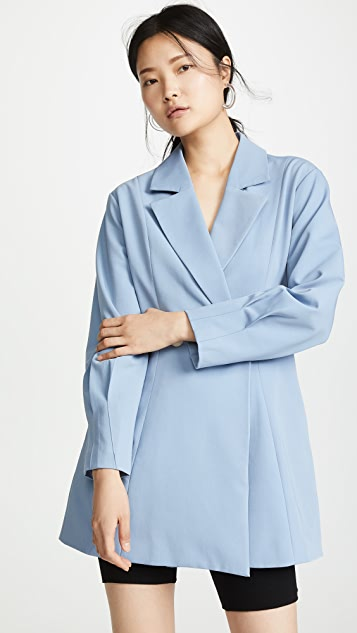 Chriselle Lim Collection Sapphire Blue Blazer