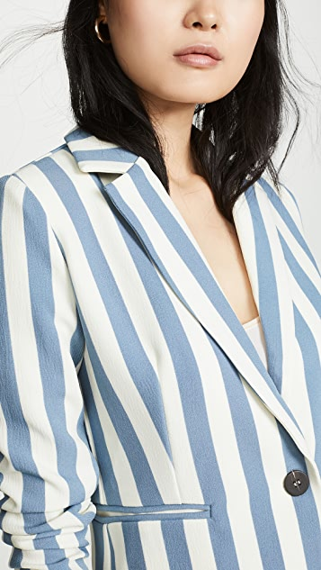 Chriselle Lim Collection Blue Stripe Blazer