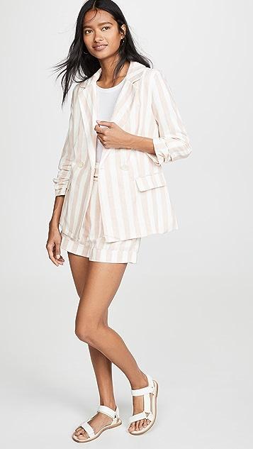 Chriselle Lim Collection Blush Stripe Shorts