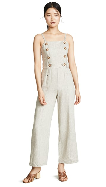 Chriselle Lim Collection Oatmeal Jumpsuit