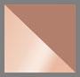 Rose Gold/Transparent Brown