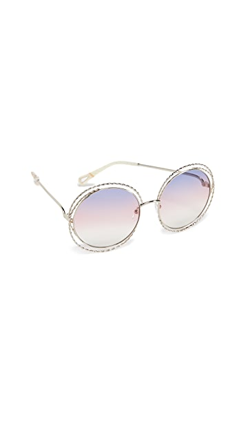 Chloe Carlina Torsade Sunglasses