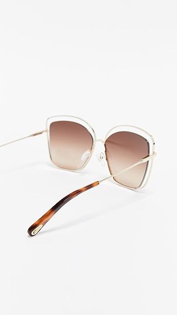 Chloe Poppy 猫眼太阳镜