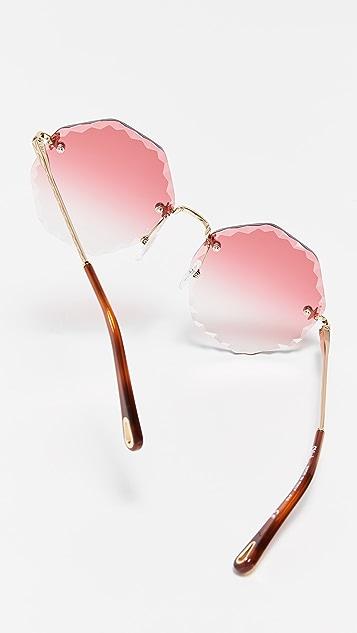 Chloe Rosie 扇贝形太阳镜
