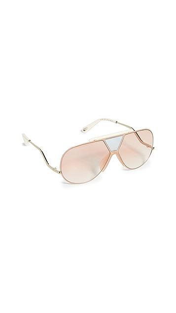 Chloe Солнцезащитные очки Willis Navigator Shield