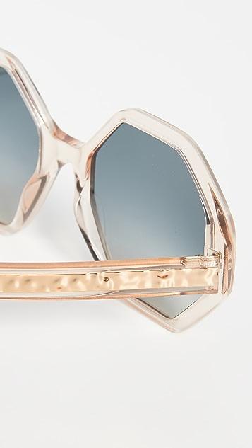 8984856361 Willow Octagonal Sunglasses