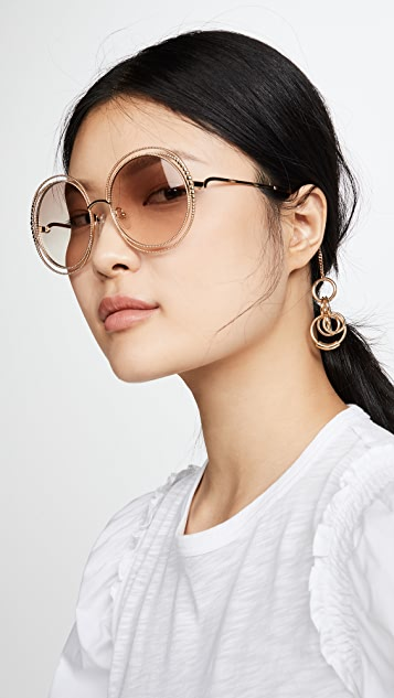 Chloe Chloe Reese Jewel Sunglasses Charm