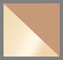 золотисто-коричневый с плавными переходами цвета