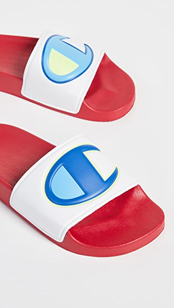 Champion IPO Colorblock Slides