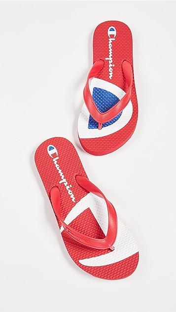Champion Split C Flip Flips