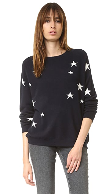 7fb3cb1ed5 Chinti and Parker Slouchy Star Cashmere Sweater