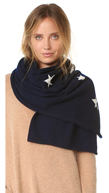 Chinti and Parker Star Scarf