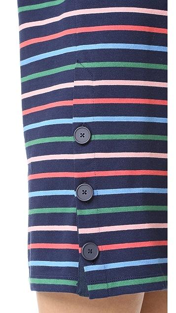 Chinti and Parker Side Button Breton Dress