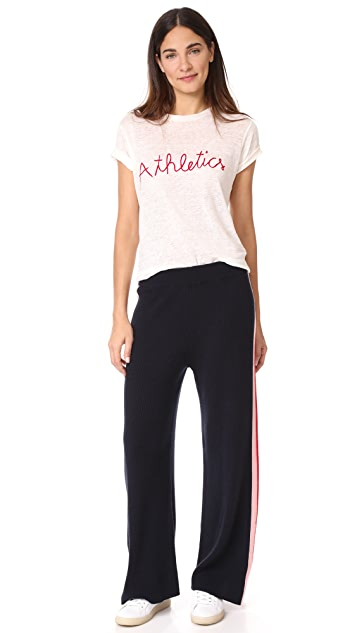 Chinti and Parker Mouline Intarsia Track Pants