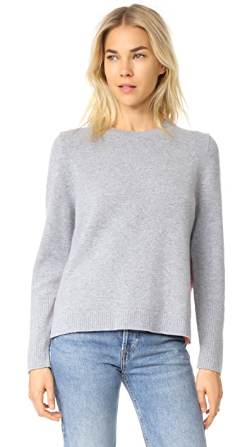 Chinti and Parker Ribbed Back Sweater
