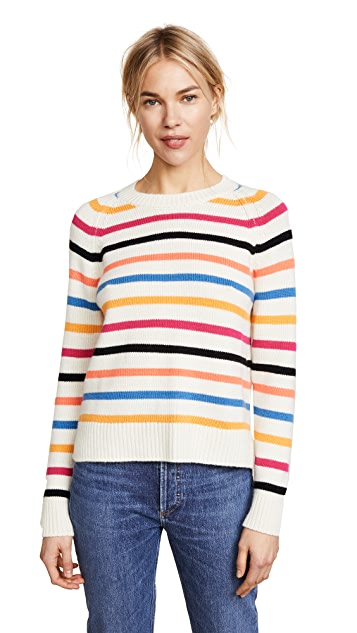 Chinti and Parker Cashmere Breton Sweater