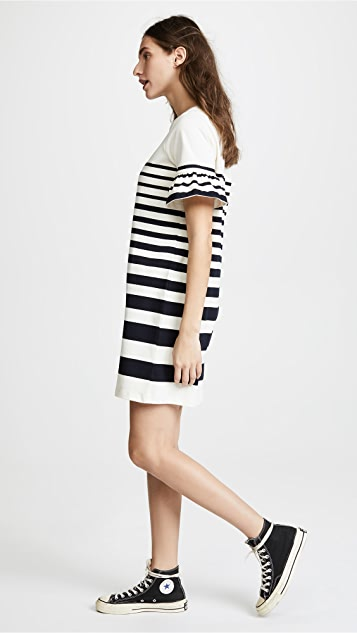 Chinti and Parker Bell Sleeve Dress