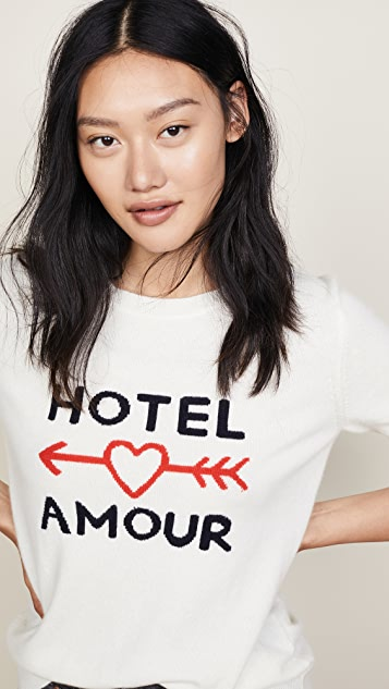 Chinti and Parker Hotel Amour Cashmere Sweater