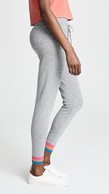 Chinti and Parker Stripe Cuff Track Pants