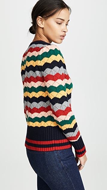 Chinti and Parker Chevron Sweater