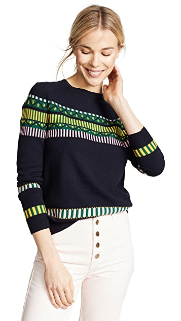 Chinti and Parker Le Cirque Fair Isle Sweater