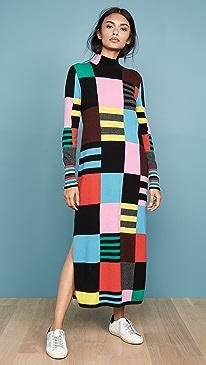 Eccentric Sweater Dress