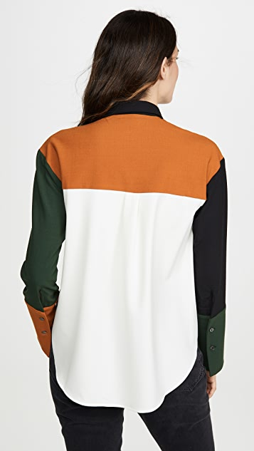 Chinti and Parker Colorblock Shirt