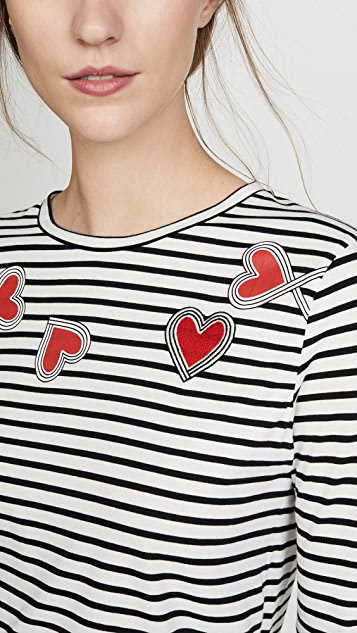 Chinti and Parker Anni Heart Tee