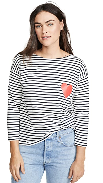 Chinti and Parker Breton Stripe Tee