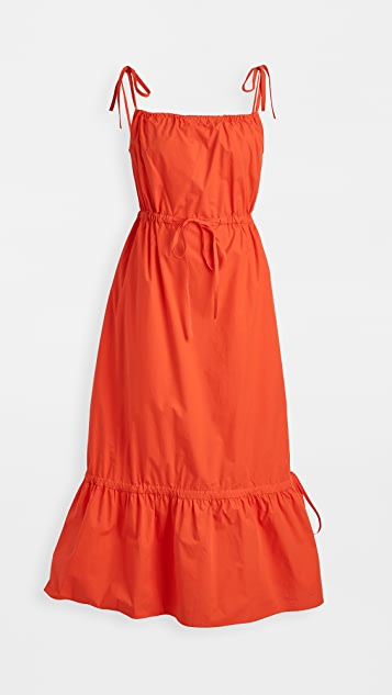 Chinti and Parker Drawstring Sundress