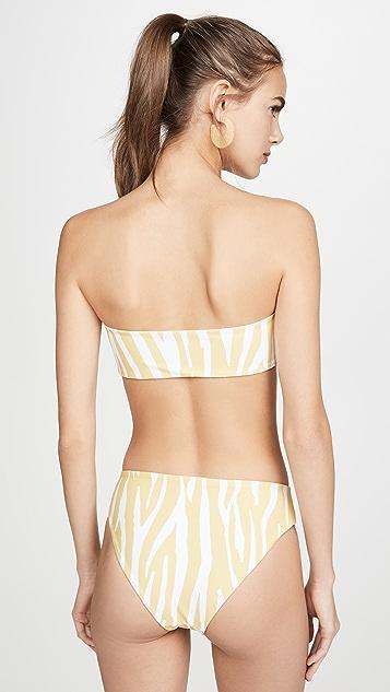 Charlie Holiday Elle Bandeau Bikini Top