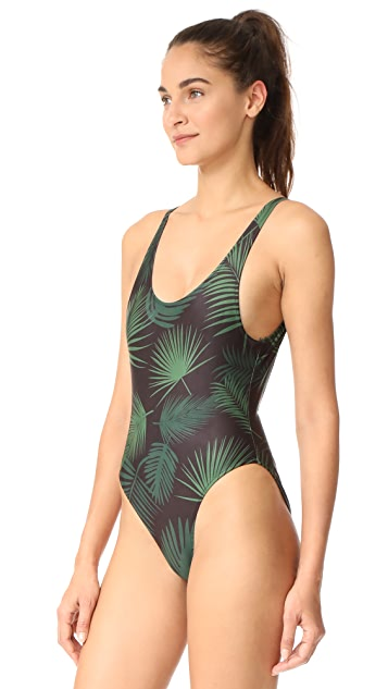 CHRLDR Tropical One Piece