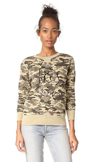 CHRLDR Tres Bien Camo Sweatshirt