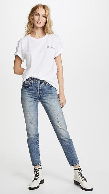 CHRLDR Tres Bien Roses T-shirt