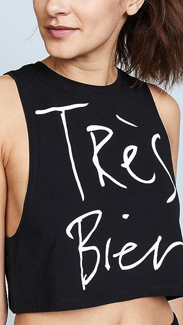 CHRLDR Tres Bien Crop Top