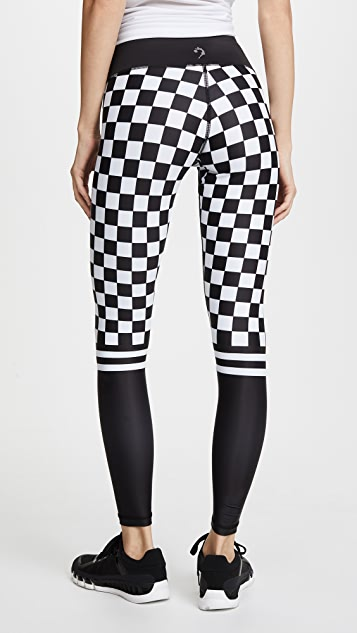 CHRLDR Checker Leggings