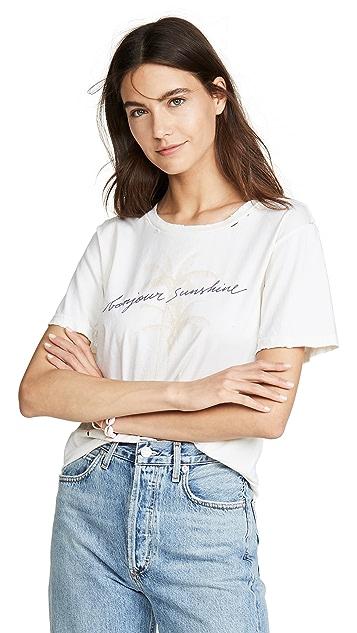 CHRLDR Bonjour Sunshine T 恤