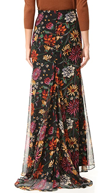 Cinq a Sept Wildflower Poseidon Skirt