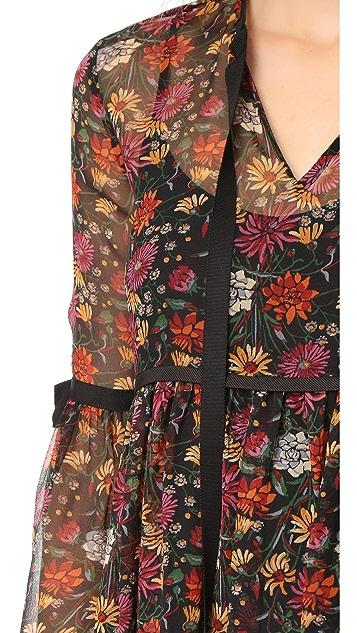 Cinq a Sept Wildflower Ursa Dress