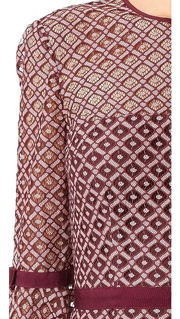 Cinq a Sept Cosette Lace Dress