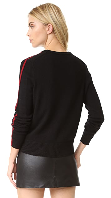Cinq a Sept Avena Embellished Pullover