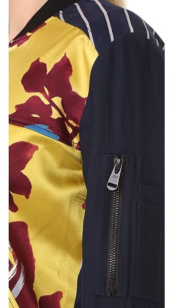 Cinq a Sept Harper Bomber Jacket