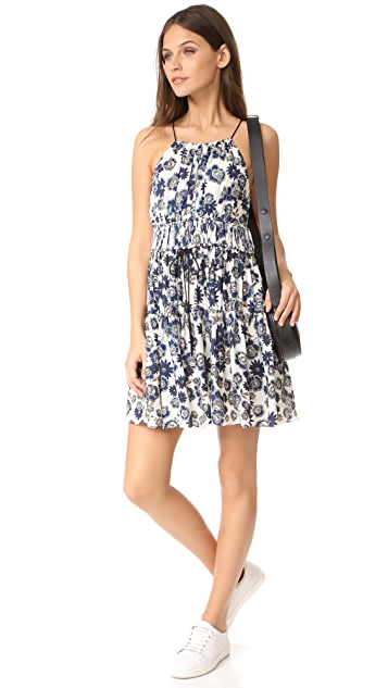 Cinq a Sept Floral Lotus Dress