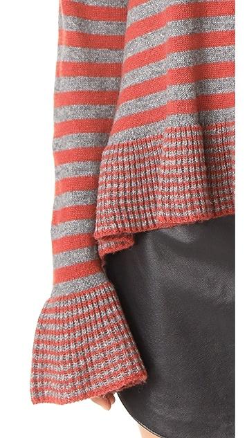 Cinq a Sept Stripe Seren Pullover