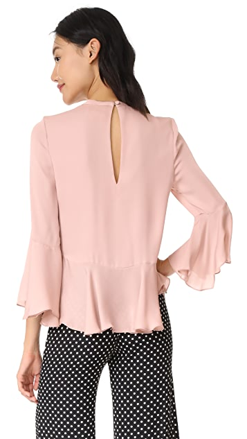 Cinq a Sept Thea Silk Top