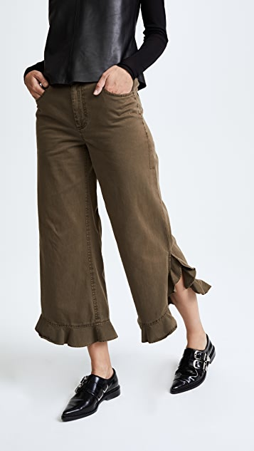 Cinq a Sept Spencer Pants - Olive