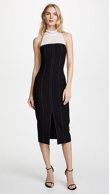 Cinq a Sept Noemi Dress - Black/Ivory